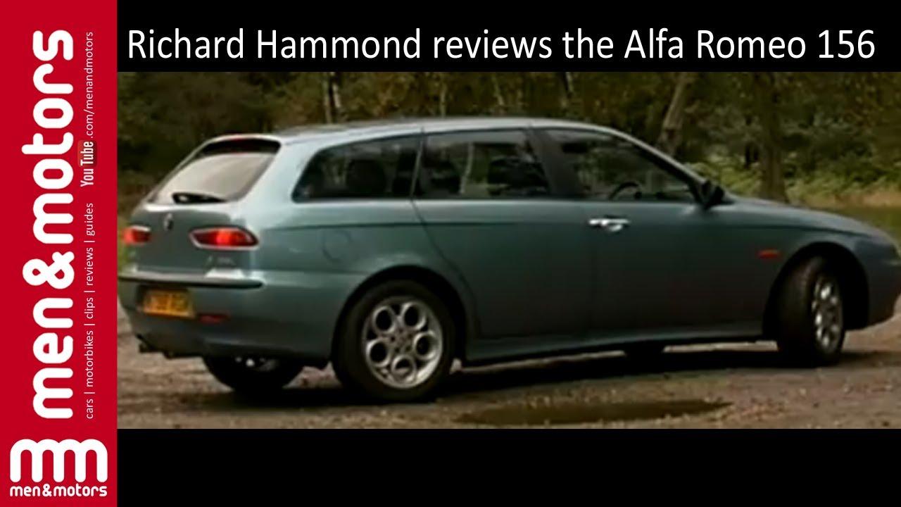 Richard Hammond Reviews The Alfa Romeo 156 (2000) - YouTube
