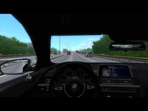 Симулятор вождения машины на ПК BMW M6 F12