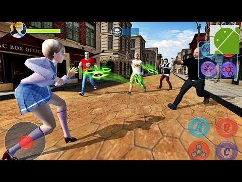 Fidget Spinner Super Hero - Android Gameplay HD