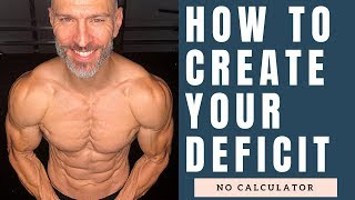 How To Create A Caloric Deficit