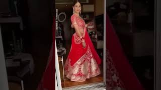 Unseen Video Of Disha Parmar From Her Wedding Day ✨