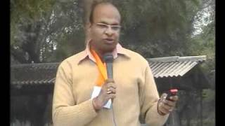 Protest against HUDA and Faridabad Neharpar Builders - Speech by Dheeraj Jain