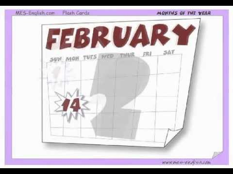 Download Months of the Year - English vocabulary videos