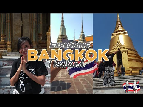 BANGKOK TRAVEL VLOG: The Grand Palace | Wat Pho | Wat Arun | Night Market | RheAnna Vlogs