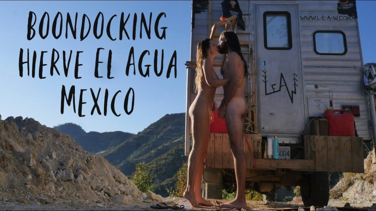 Van Life in Hierve el Agua - Oaxaca Mexico - Free Boondocking