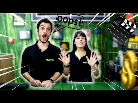 Bloopers - Os enganos durante as gravações - Só RIR !