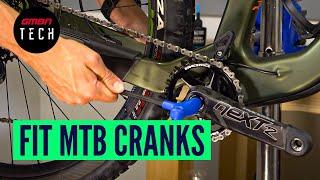 How To Remove & Reinṡtall Mountain Bike Cranks | MTB Maintenance
