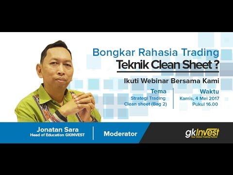 Metode Stategi Trading Clean Sheet (Jonatan Sara)