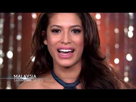 Meet Miss Universe Malaysia 2017 Samantha James