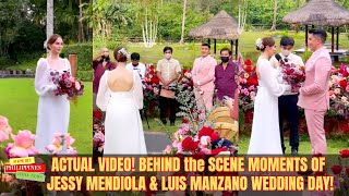 ACTUAL Behind the Scene VIDEOS of Jessy Mendiola and Luis Manzano's WEDDING! KASAL NA Sila!