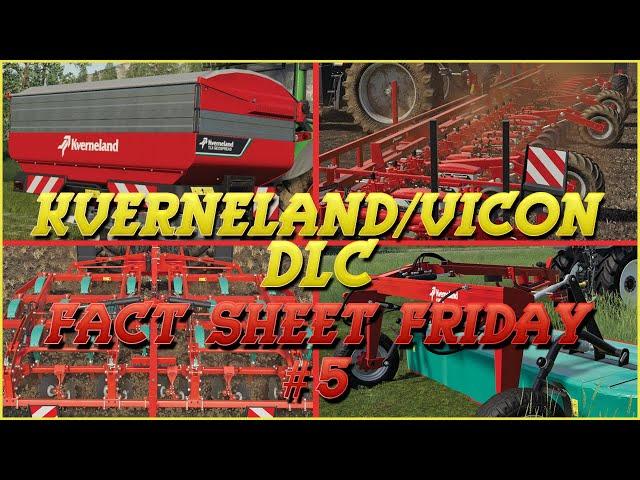 Kverneland & Vicon DLC: Fact Sheet Friday #5 | Farming Simulator 19