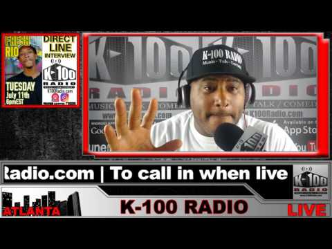 Direct Line Interview with Fresh Rio on K-100 Radio
