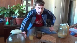 хлеб бездрожжевой квас дигустация рассада )))