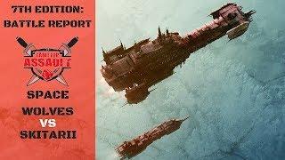 Space Wolves vs Skitarii 1500pts Battle Report