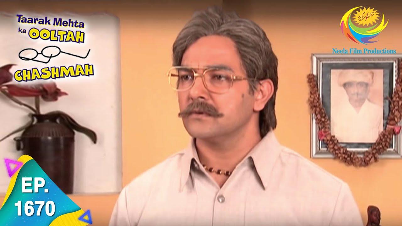 Taarak Mehta Ka Ooltah Chashmah - Episode 1670 - Full Episode