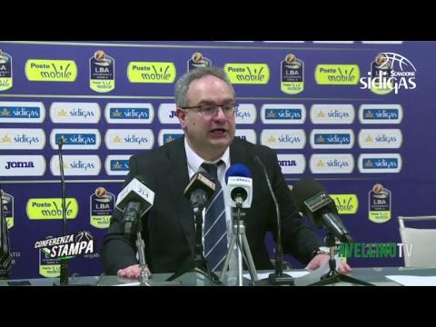 LIVE - La conferenza stampa post Sidigas Avellino - Tsmoki Minsk