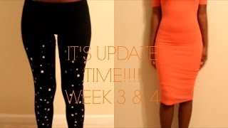 APETAMIN WEEK 3 & 4 UPDATE | 4 POUNDS GAIN!!