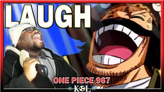 ROGER REACHES LAUGH TALE One Piece Manga Chapter 967 LIVE REACTION ワンピース