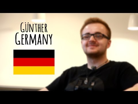Günther, German student - International Bachelor - SCBS