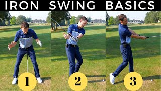 IRON SWING BASICS - 3 TIPS TO STRIKE YOUR IRONS