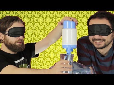 Cezalı Yarışma: Damacanadan Su Doldurma