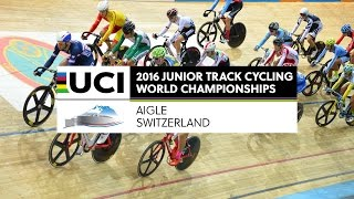 Day 2 - 2016 UCI Junior Track Cycling World Championships