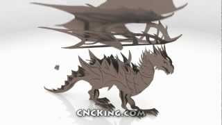 Plasma Dragon: 3D Assembly Animation (1080HD)