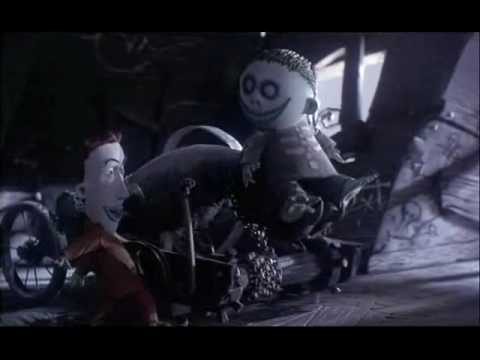 The Nightmare Before Christmas Kidnap the Sandy Claws-Korn ...