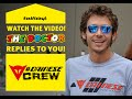 #askVale46: Valentino Rossi replies to you! PART 1