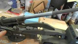 REVELL RENWAL 1/32 ATOMIC CANNON BUILD PART 3