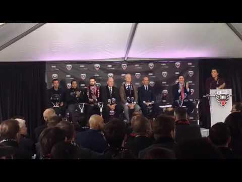 Groundbreaking for DC United's new stadium