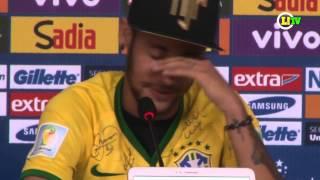 Neymar chora ao lembrar lance que o tirou da Copa do Mundo