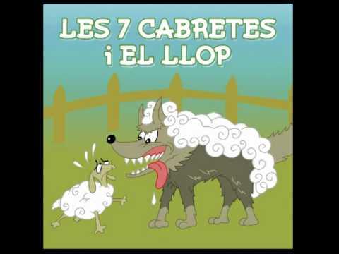 Contes Infantils - Les 7 Cabretes I El Llop