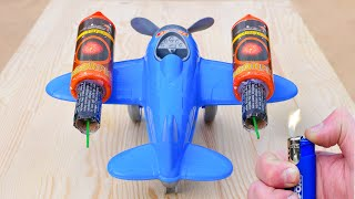 Experiment: Rocket powered Airplane!