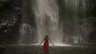 Sexy in Red | Waterfall Bali