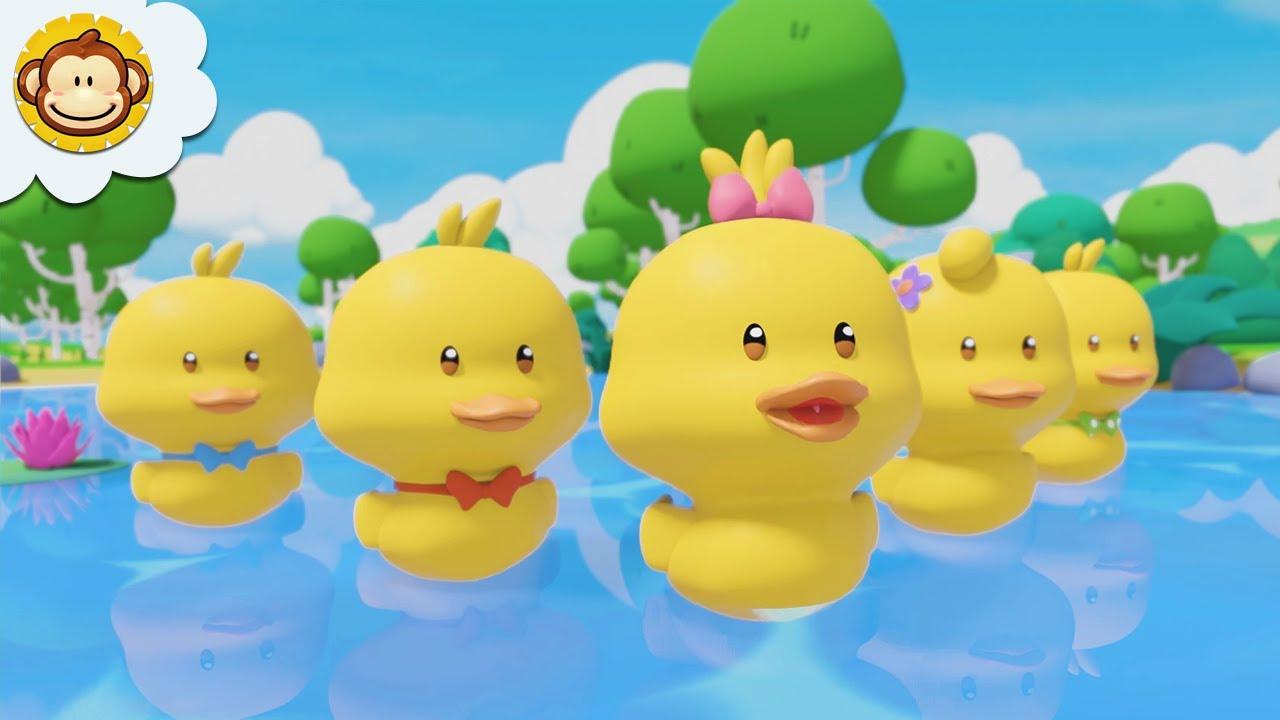 Lagu Anak Anak | Lima Ekor Bebek