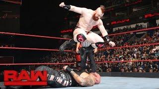 Sheamus vs. Luke Gallows: Raw, Jan. 9, 2017