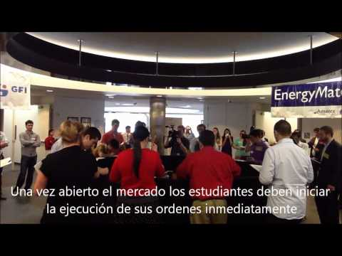 Estudiantes EIAM en Open Outcry Trading Challenge