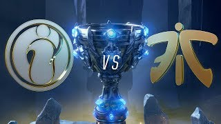 IG vs FNC | Worlds Group Stage Day 8 | Invictus Gaming vs Fnatic (2018)