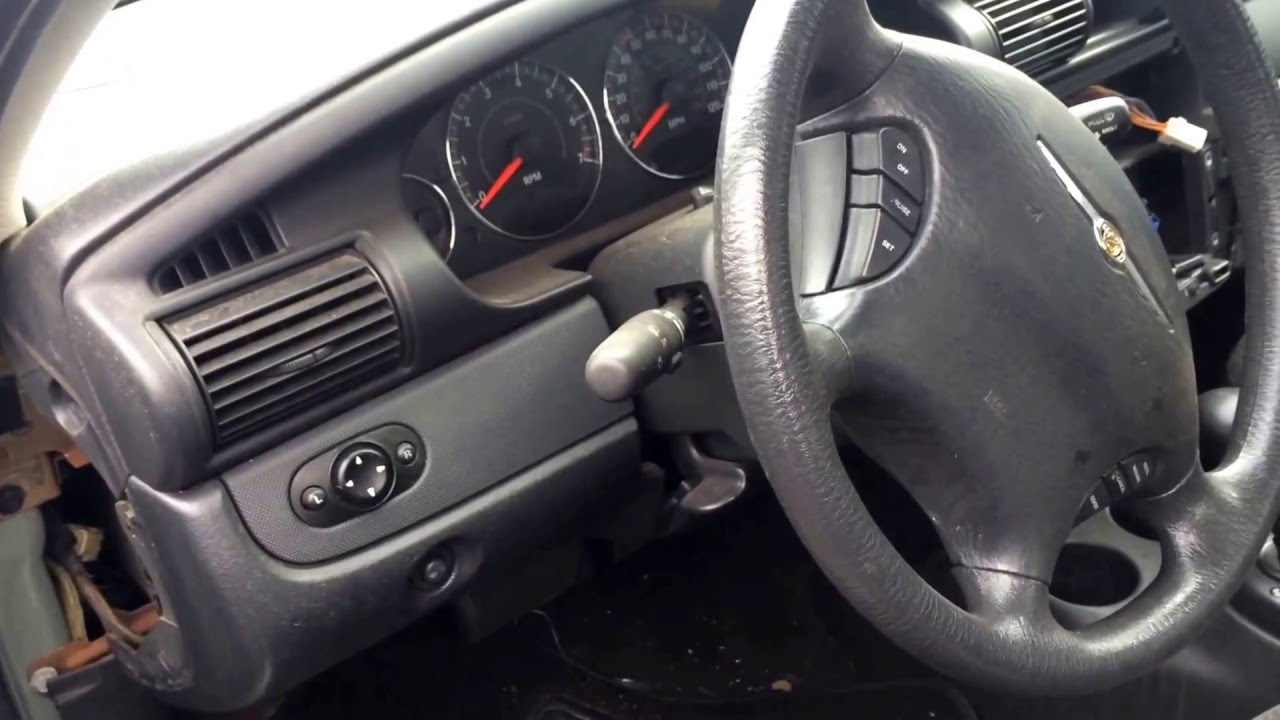 2005 chrysler sebring fuse box location - youtube  youtube
