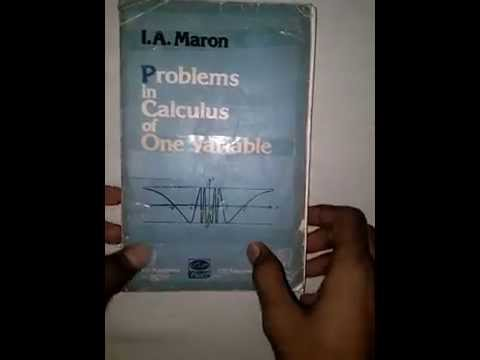Problems In Calculus Of One Variable By I.a.maron Ebook Download