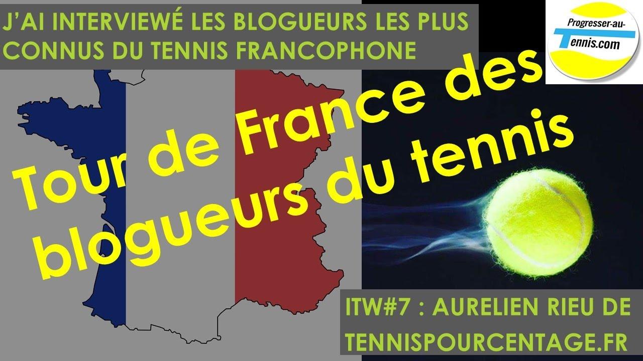 Progresser au tennis : itw#7 Aurélien Rieu de TennisPourcentage