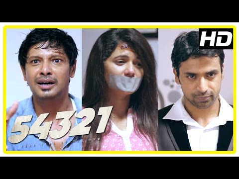 54321 Tamil movie scenes | Shabeer wants Aarvin to a baby | Shabeer tries hurting Pavithra