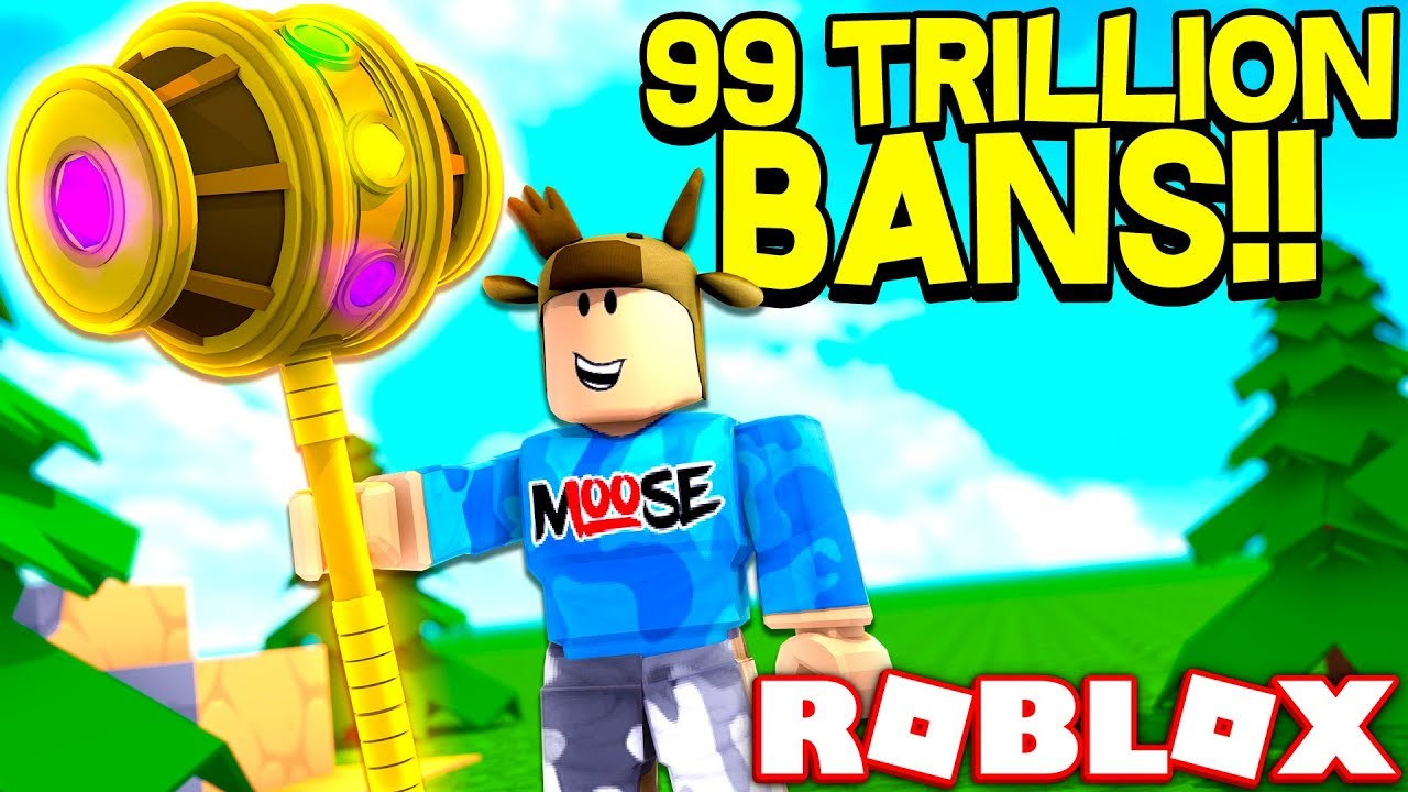 Download ROBLOX BAN HAMMER SIMULATOR! *UNLIMITED BANS*
