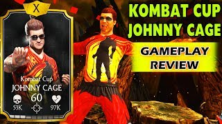 MKX Mobile 1.18.1. Kombat Cup Johnny Cage Gameplay + Review. Epic Special 2. HIS BALLS ARE ON FIRE!