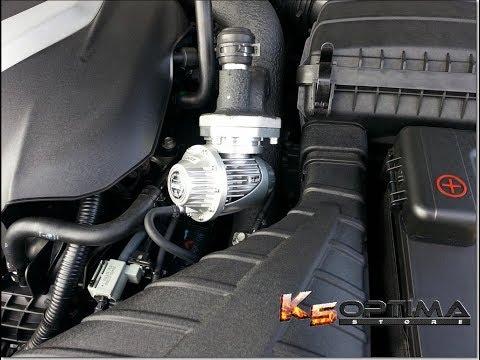 We put an HKS BOV on 2012 Hyundai Sonata!
