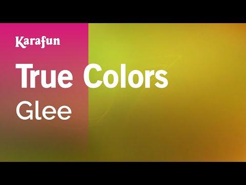 Karaoke True Colors - Glee *