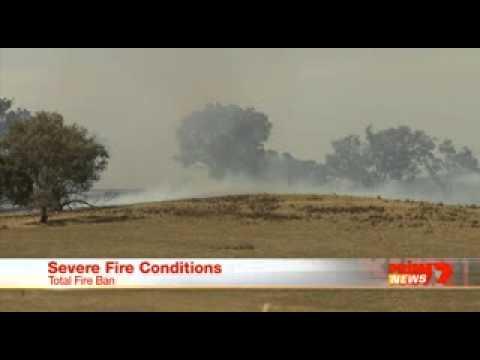 Tantallon Fire  Prime 7 News 18 12 2014