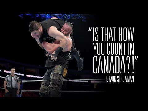 Stunning Steel Chair Attacks Coleman Rocking Wwe S Top 10 Youtube Video On Find Out How Kevin Owens Responded To Braun Strowman Attack His Home Country