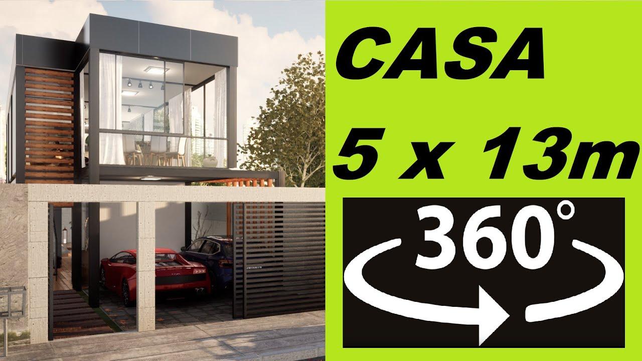 CASA PEQUENA DE 5 x 13 - VR 360 Video 4K
